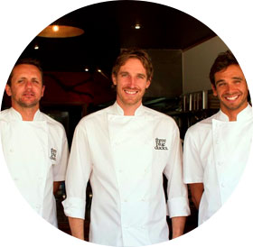 Some of the chefs who use Food Orbit